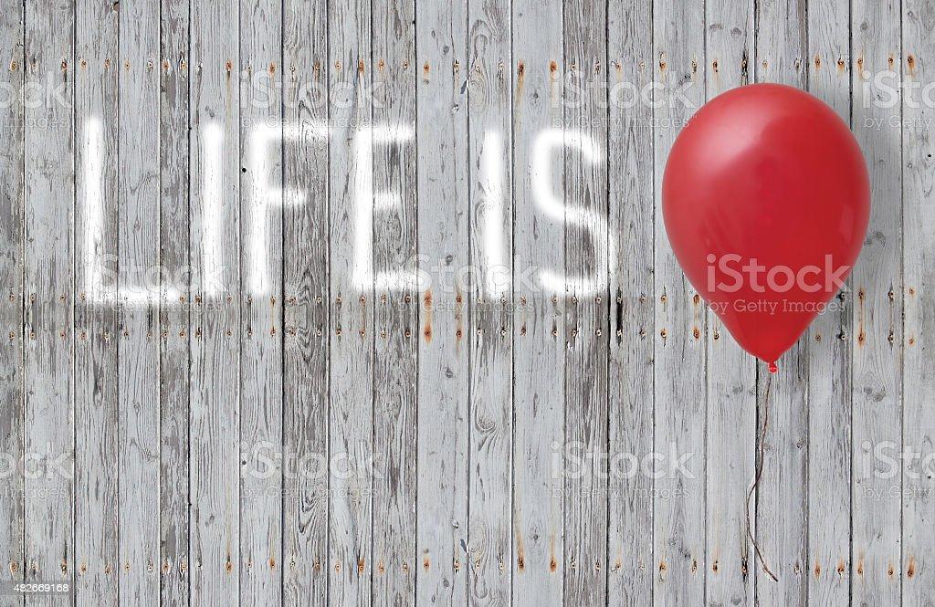 life is stock photo