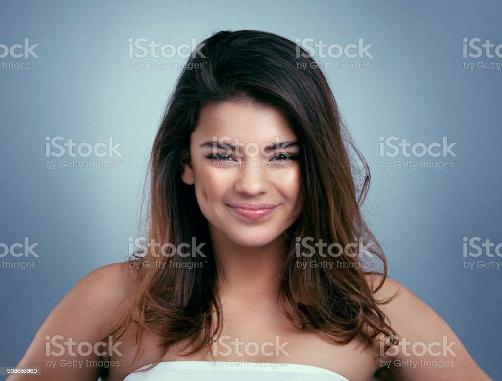 Life is too short to have boring hair stock photo