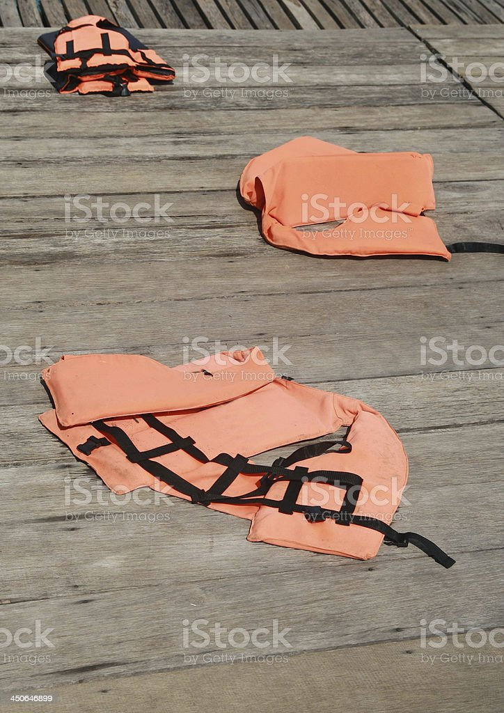 life jacket royalty-free stock photo