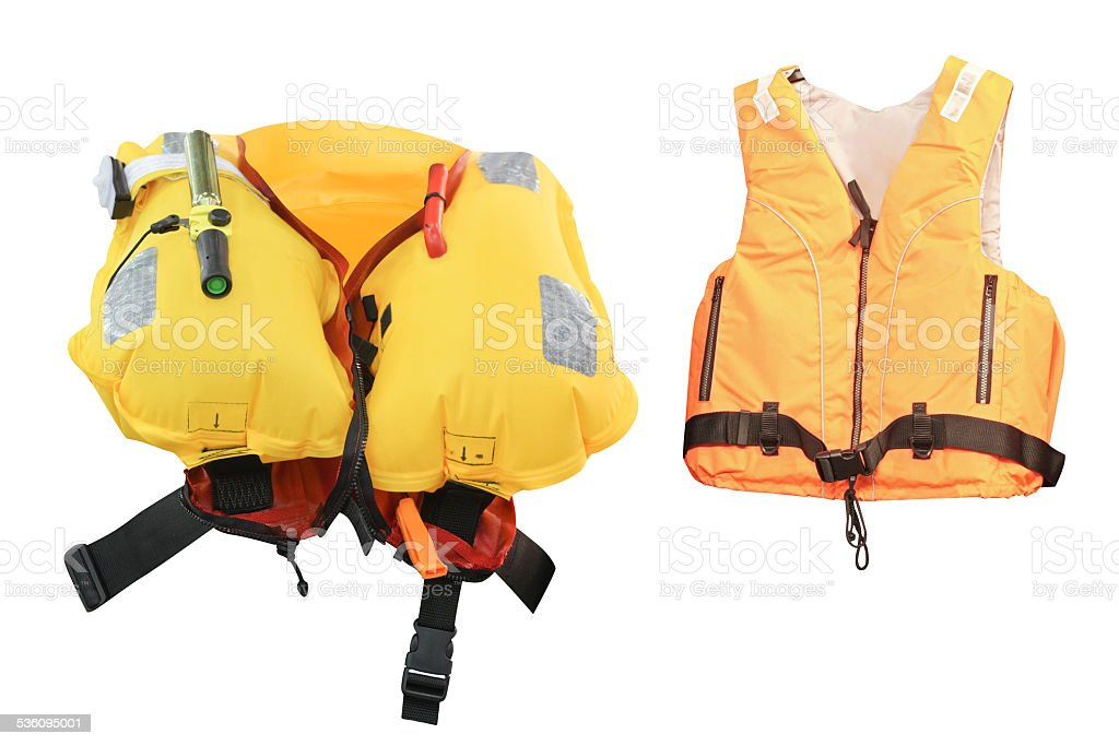 life jacket stock photo