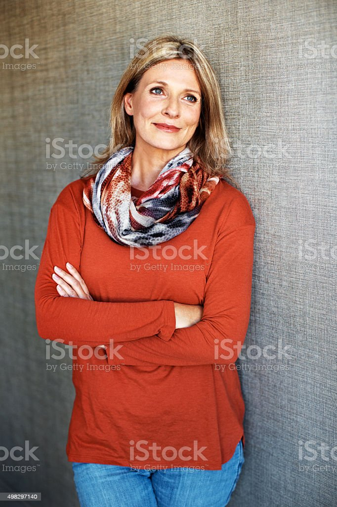 Life just couldn't be any better stock photo
