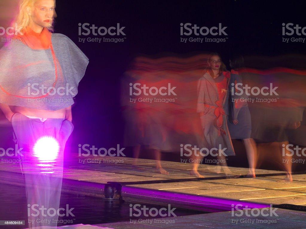 Life  Light on fashion show stock photo