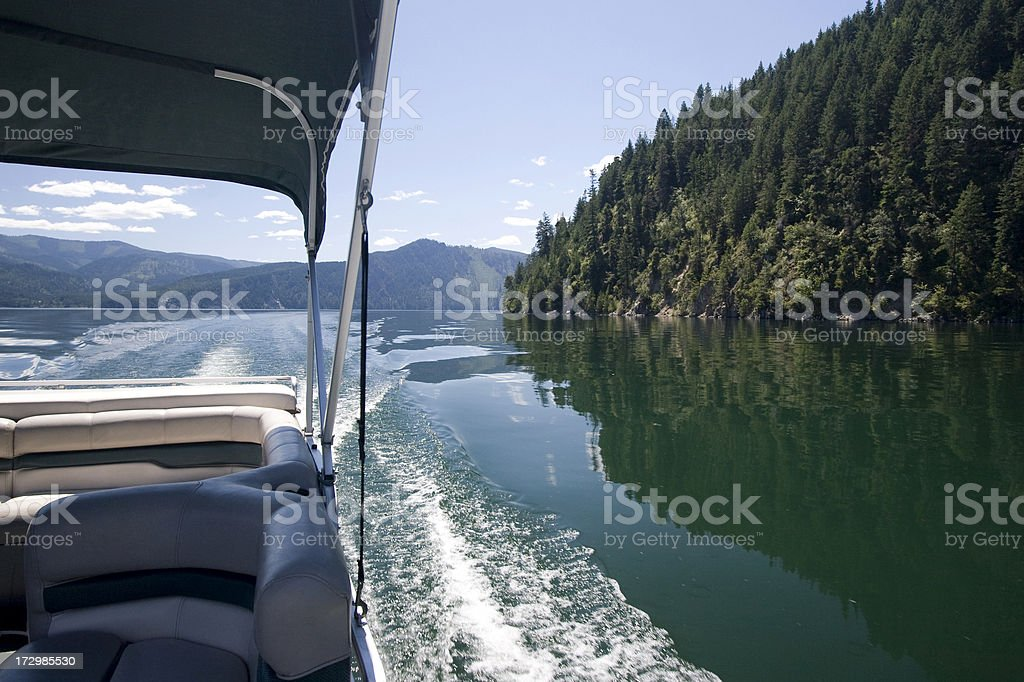 Life on a boat stock photo