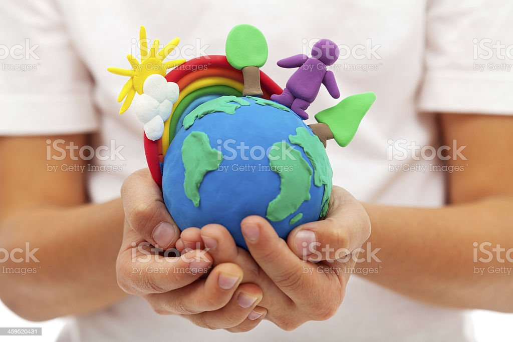 Life on earth - environment and ecology concept stock photo