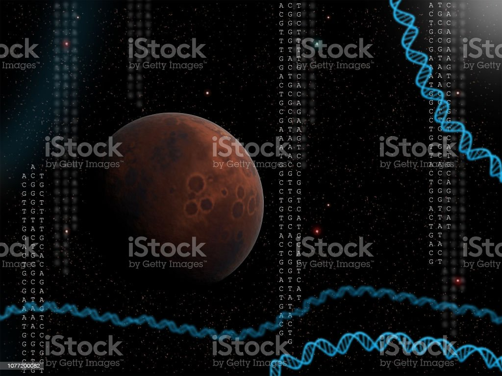 Life on other planets stock photo