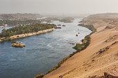 Life on the River Nile. Aswan, Egypt.