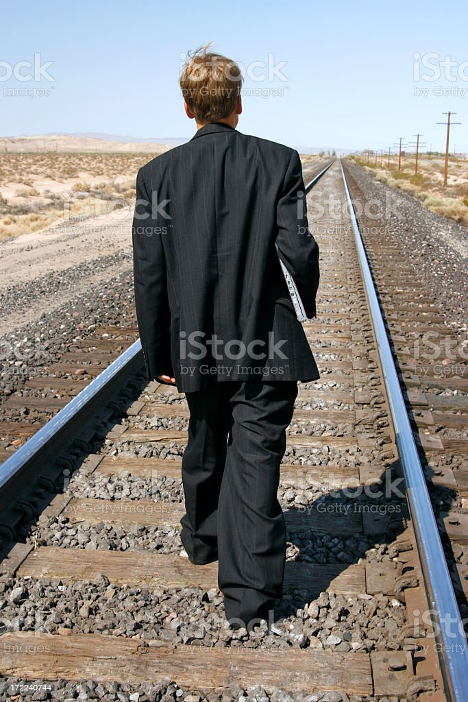 Life on Track royalty-free stock photo