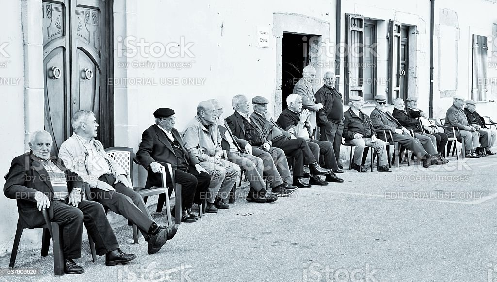 Life passing by.... stock photo