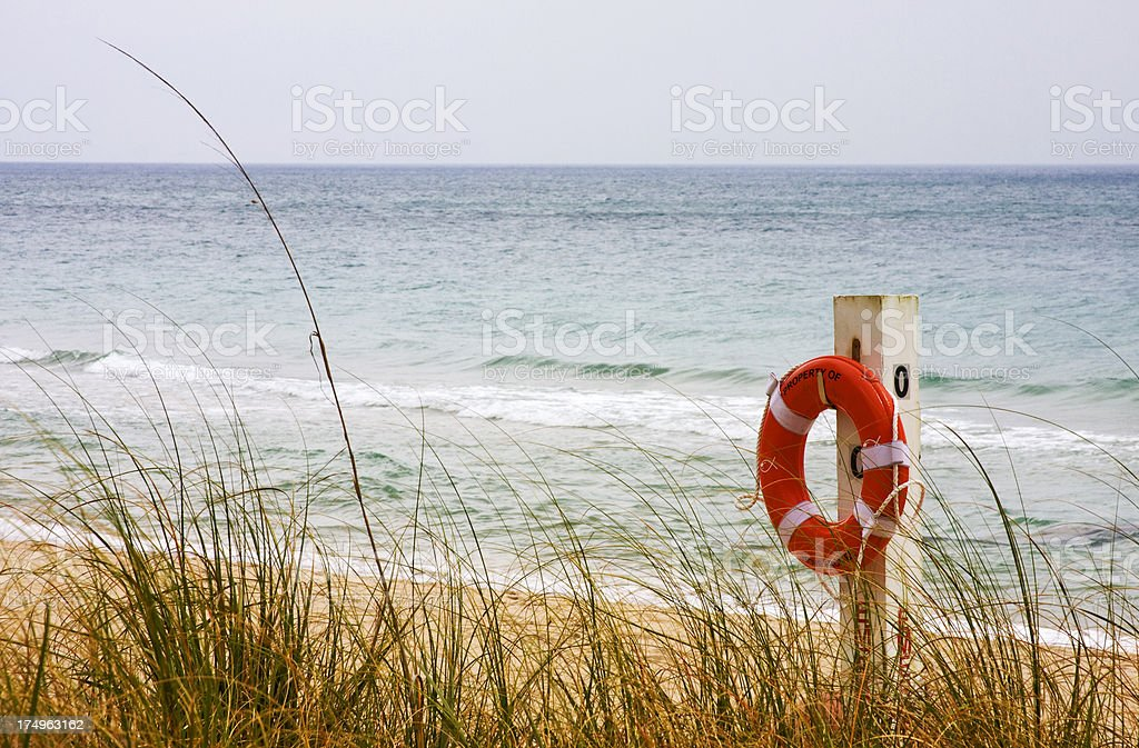 Life preserver royalty-free stock photo
