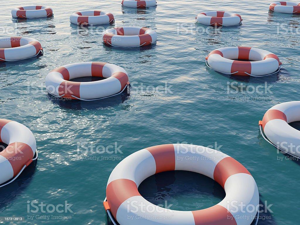 Les gilets de sauvetage - Photo