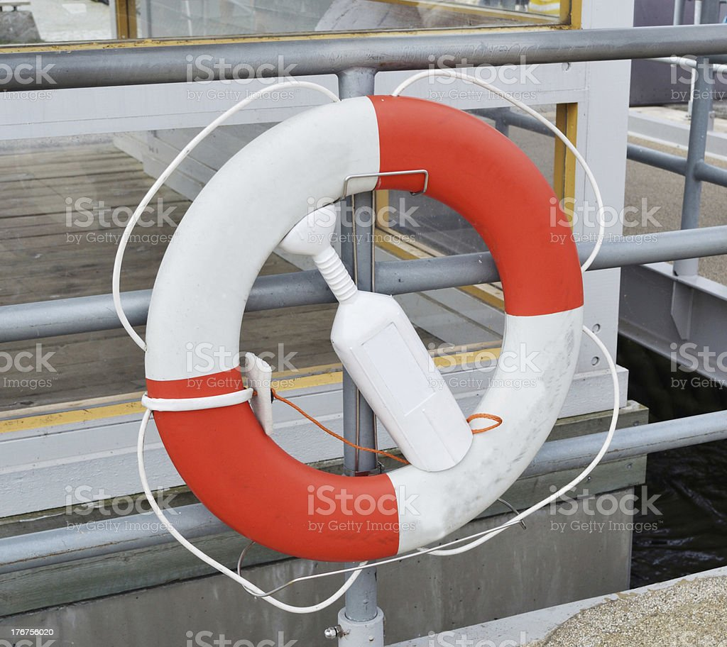 Life Ring royalty-free stock photo