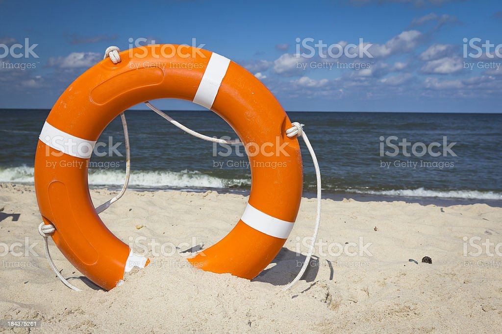 Life Ring stock photo
