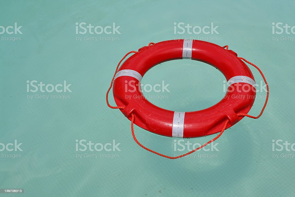 Life saver royalty-free stock photo