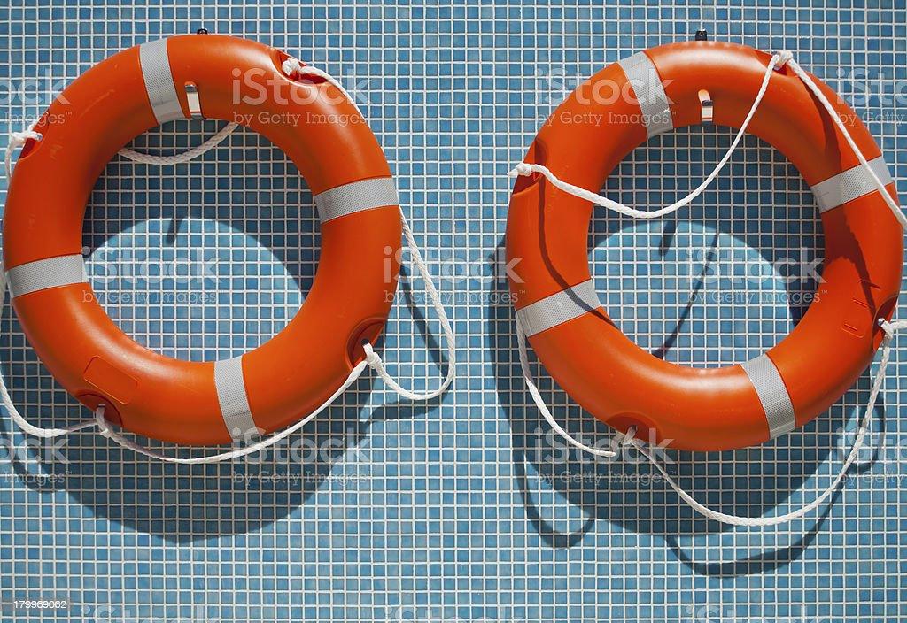 Life saving equipment royalty-free stock photo