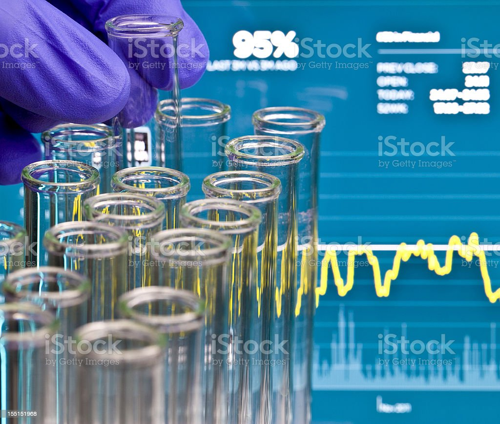 Life Science Investing royalty-free stock photo