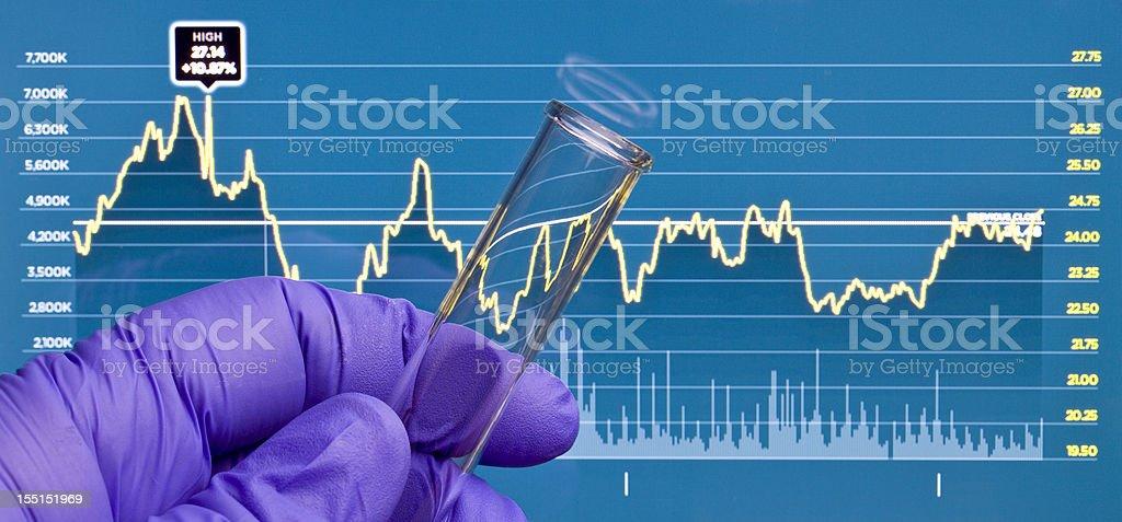 Life Science investieren - Lizenzfrei Biologie Stock-Foto