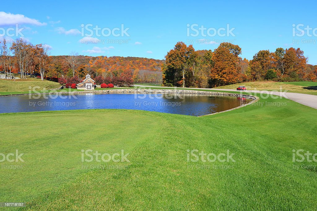 Life Style: Golf Course royalty-free stock photo