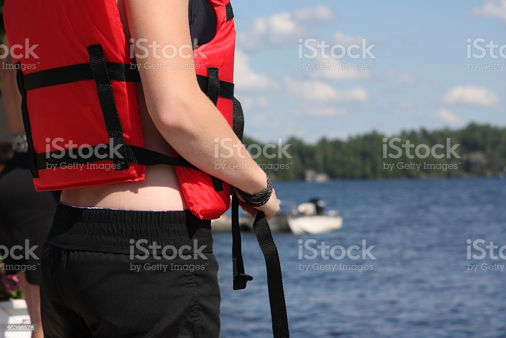 life vest royalty-free stock photo