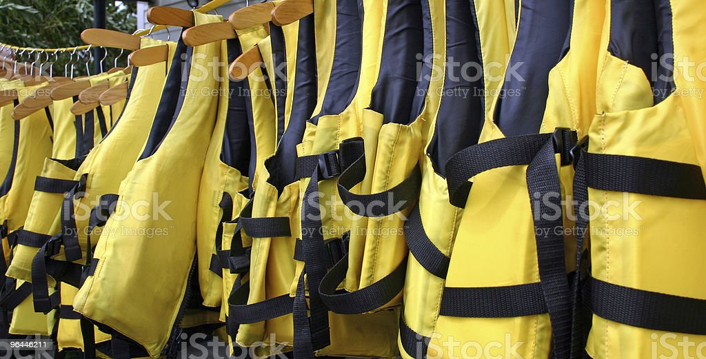 Life Vests royalty-free stock photo