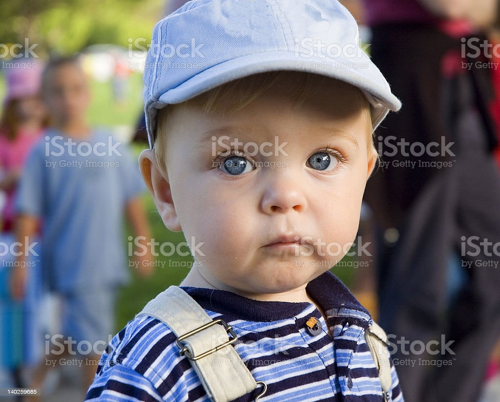 Life with a hat on royalty-free stock photo