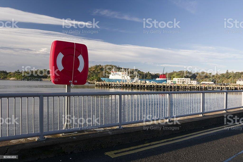 Lifebelt royalty-free stock photo