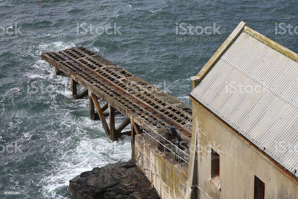 Lifeboat House stock photo