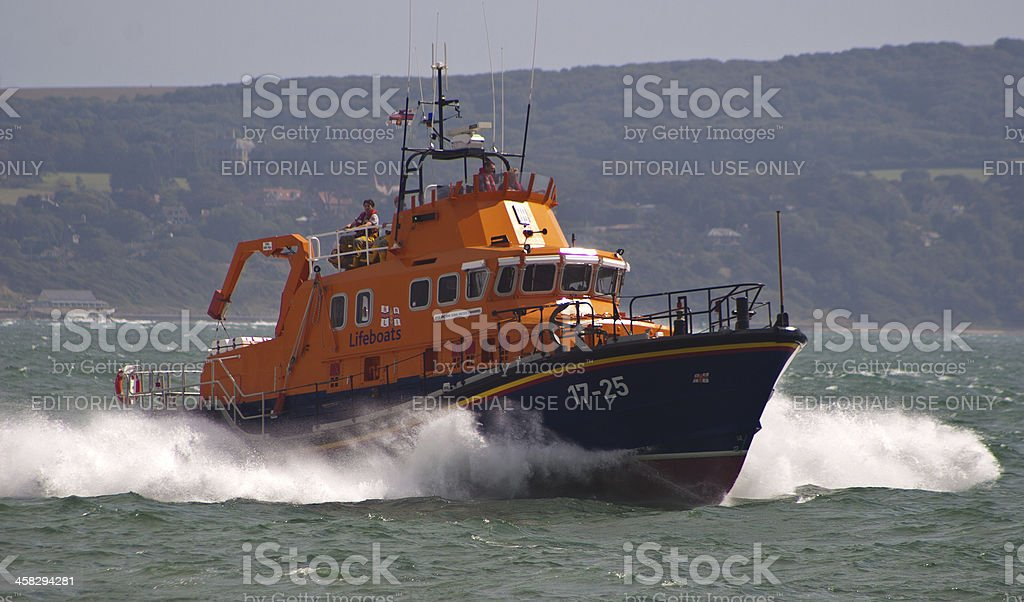 Lifeboat to the Rescue stock photo
