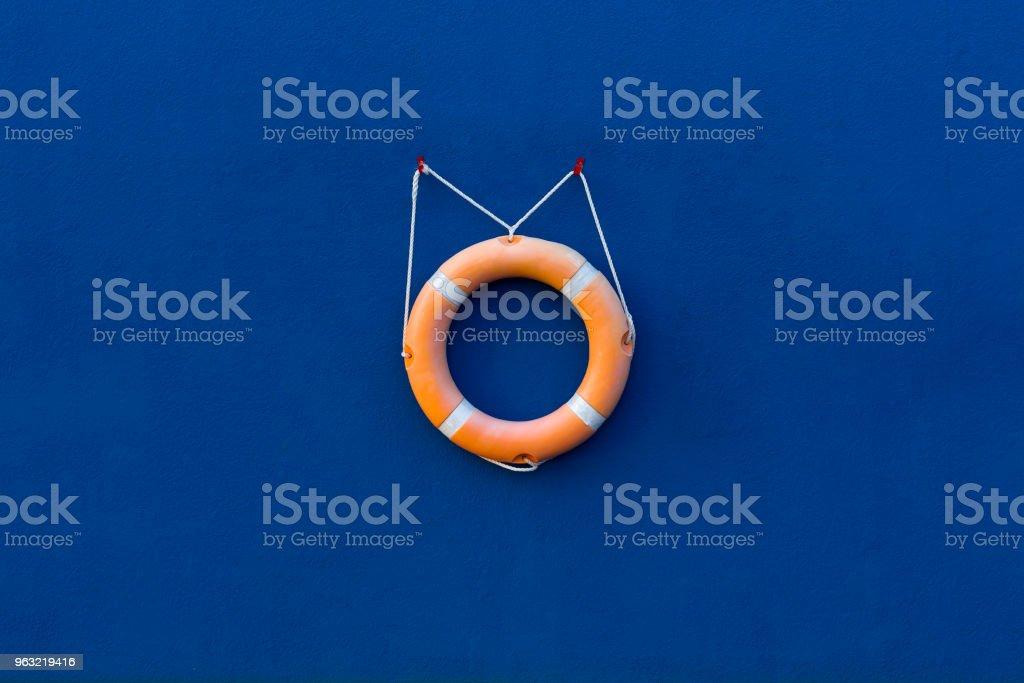 Lifebouy life saving equipment. stock photo