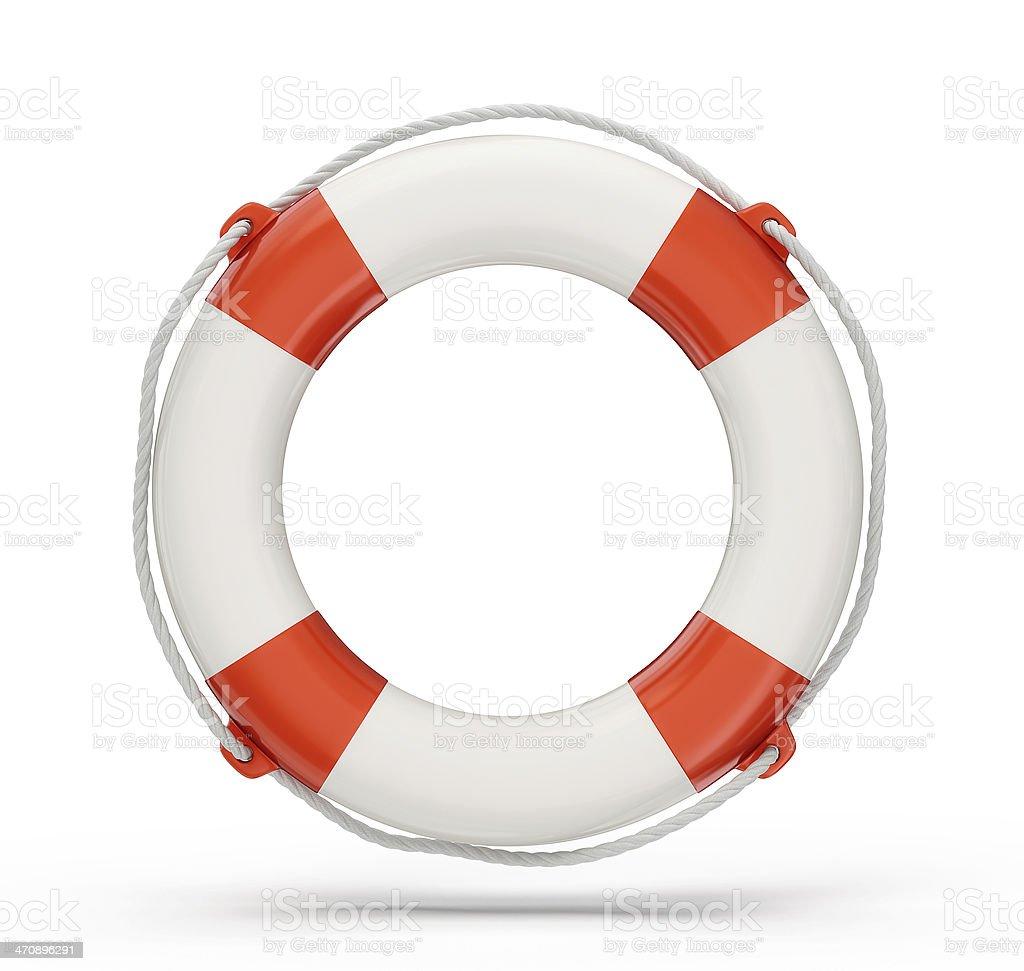 lifebuoy stock photo
