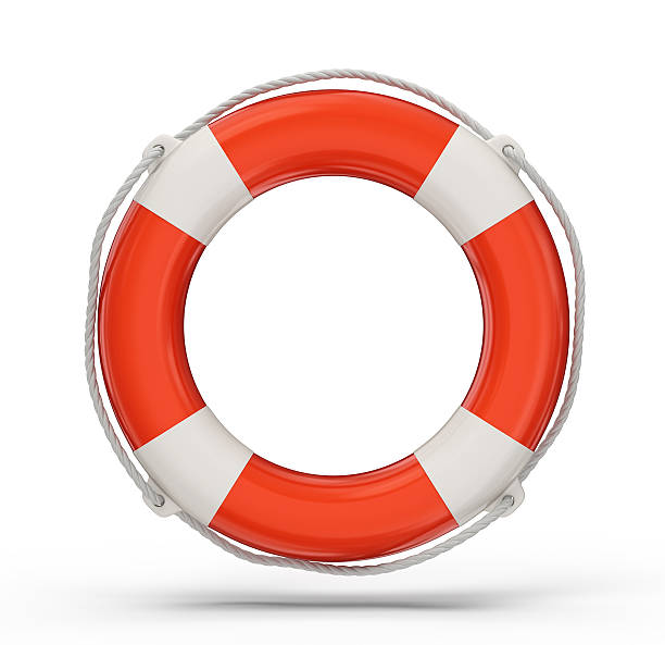 lifebuoy lifebuoy isolated on a white background. 3d illustration buoy stock pictures, royalty-free photos & images