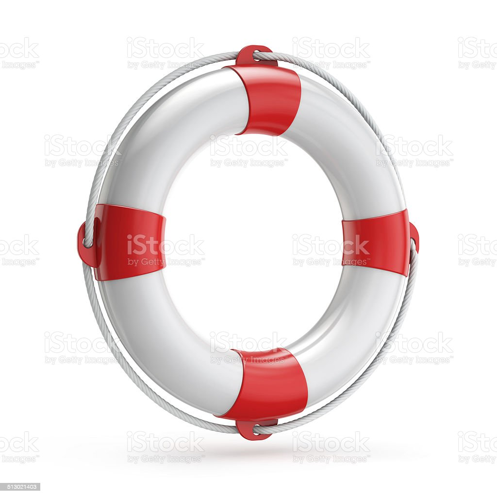 lifebuoy safety concept stock photo