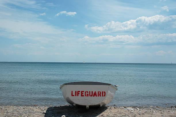 Rettungsschwimmer-Boot – Foto