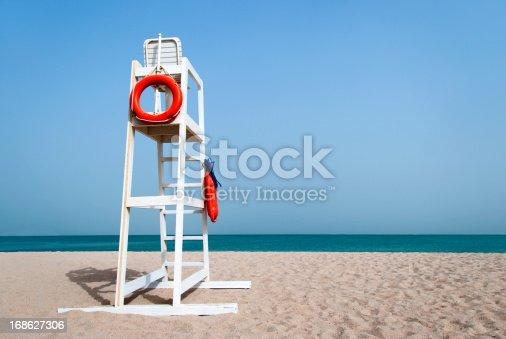 istock Lifeguard Chair 168627306