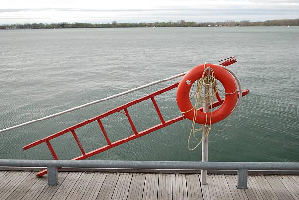 Lifeguard equipment stock photo