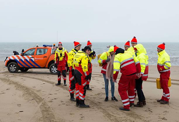 lifeguard get ready stock photo