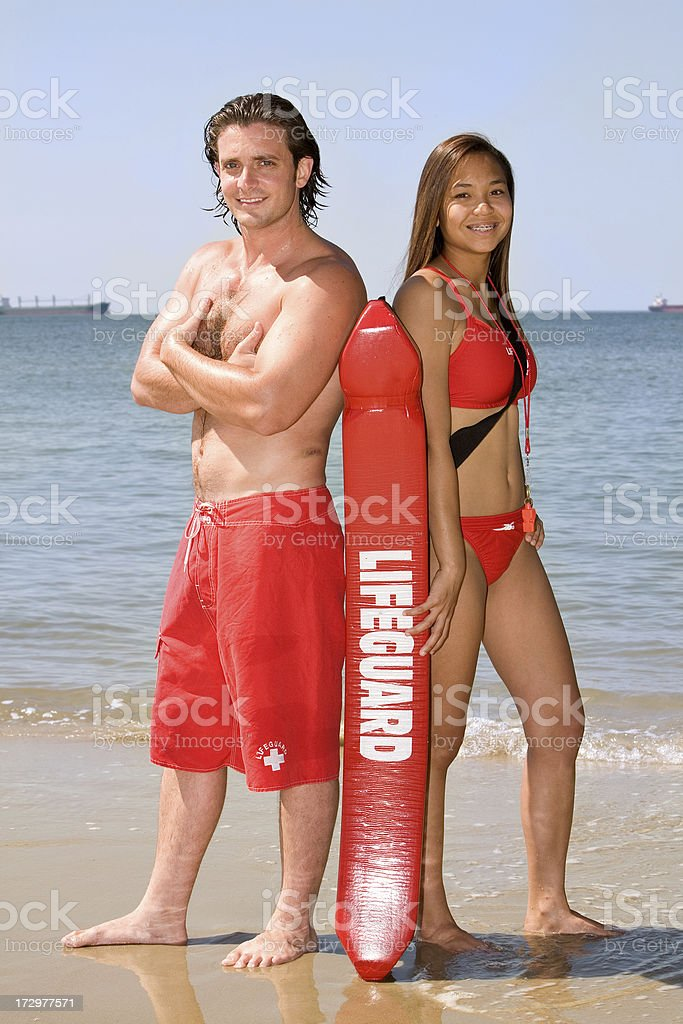 Lifeguard Series stock photo