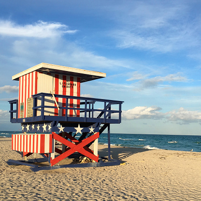 Lifeguard Stand Stock Photo - Download Image Now