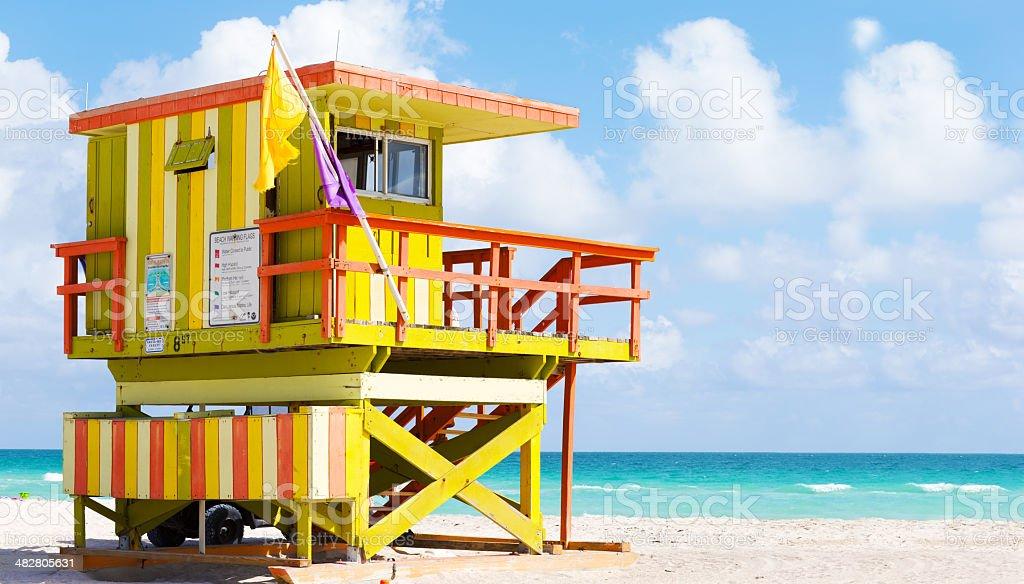 Miami Beach Ratownik stacji – zdjęcie
