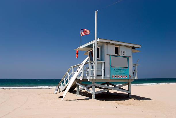 lifeguard station - badvaktshytt bildbanksfoton och bilder