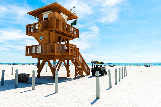 Rettungsschwimmer-Turm in Anna Maria Island in Florida – Foto