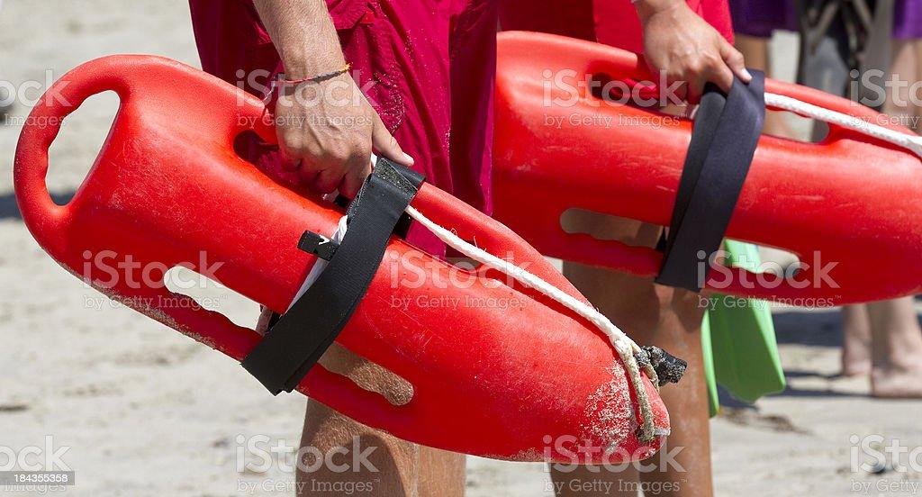 lifeguards stock photo
