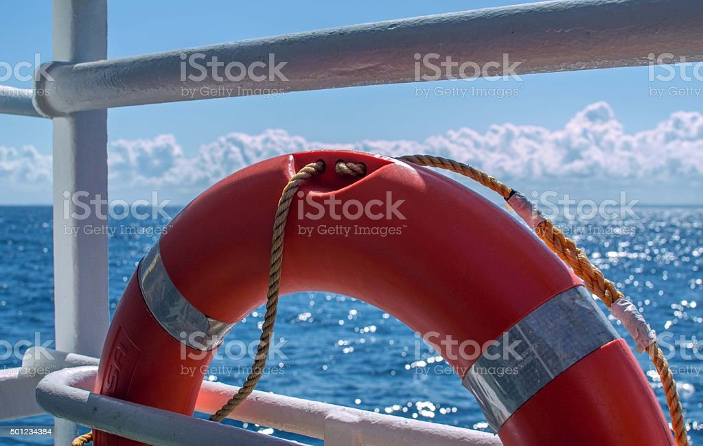 Lifering stock photo