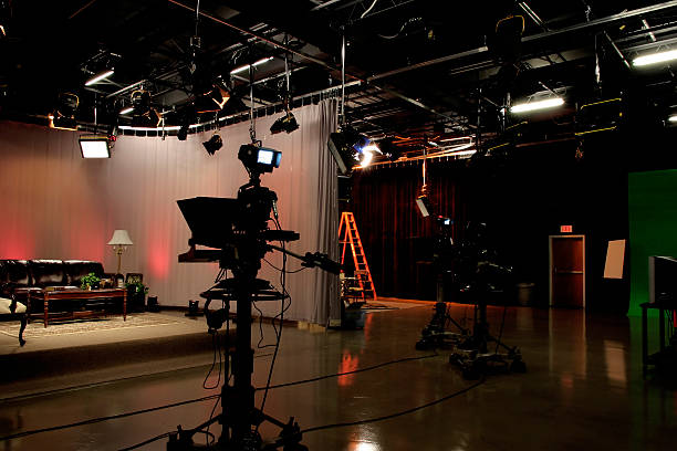 Life's a Stage Part 3 TV Production studio studio stock pictures, royalty-free photos & images