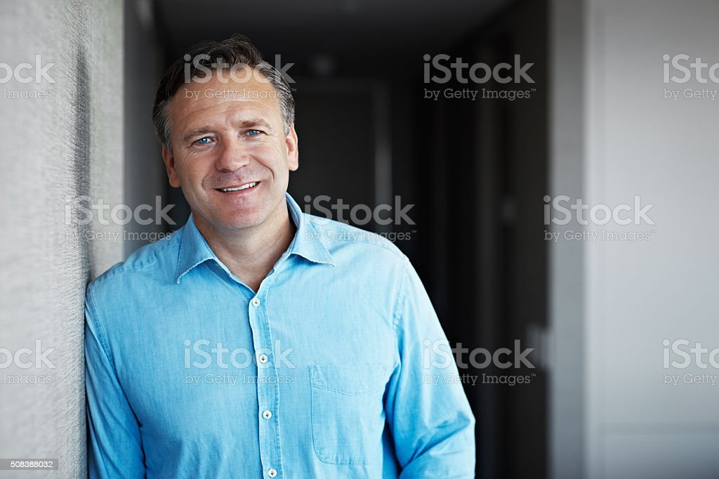 Life's been good stock photo