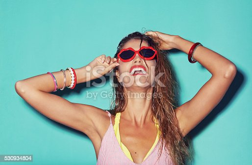 istock Life's better behind a pair of shades 530934804