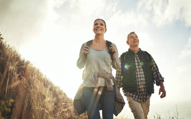 Life's better enjoyed with a side of adventure stock photo