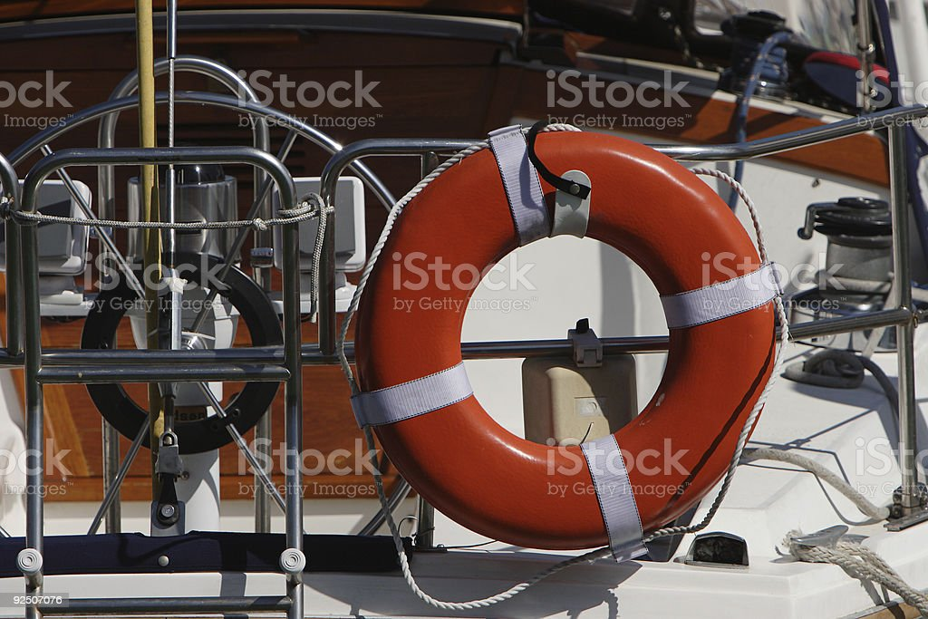 Lifesaver royalty-free stock photo