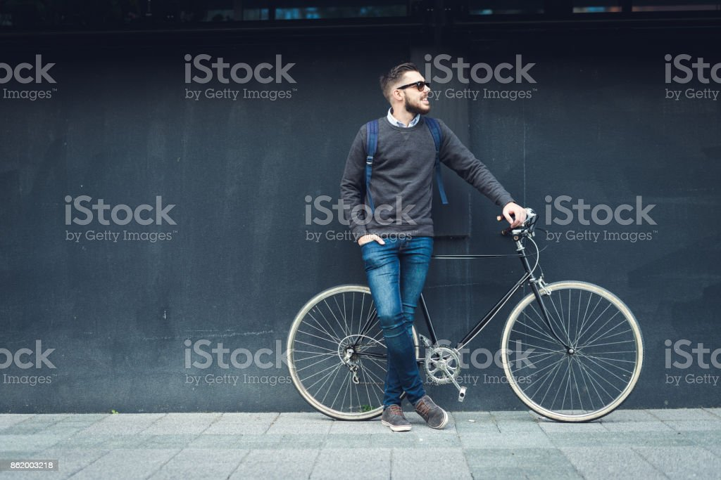 Lifestyle and transportation stock photo