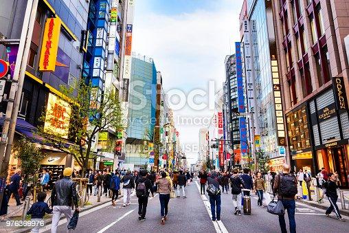 istock Lifestyle japanese at Shinjuku neighborhood, Tokyo Japan. 976369976