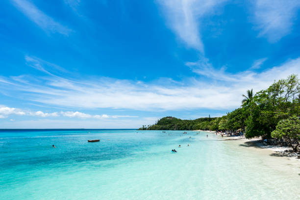 Lifou Beach stock photo